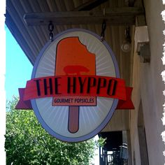 Gotta visit the Hyppo during your trip to St. Augustine for yummy gourmet popsicles!