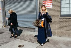 New York Fashion Week Street Style is heating up.