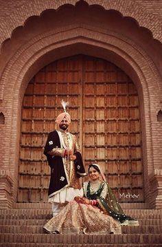 Royalty. Punjabi Wedding