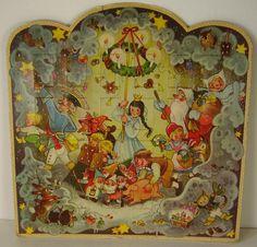 Schöner alter Adventskalender (1)