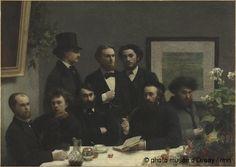 Henri Fantin-Latour  Corner table in 1872