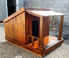how easy it is to build a pet house with pallets, we have brought here this DIY pallet dog house step-by-step tutorial that will guide you through all the