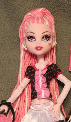 custom Monster High doll Sugar Ghoul ooak