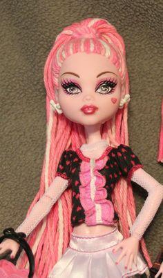 custom Monster High doll Sugar Ghoul ooak