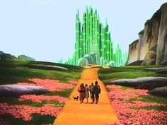 The Emerald City - my most favorite movie