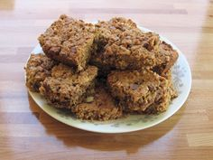 Rumble In The Kitchen: Lactation Cookie Bars-extra flax and less flour