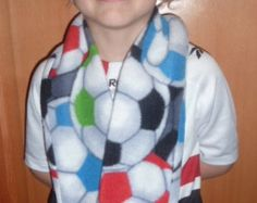 Soccer Scarf Soft Black Green Blue Red Sports by CopperBugCompany American Doll Bed, Storing Stuffed Animals, Football Accessories, Bean Bag Covers, Three Boys, Soccer Boys, Tie Dye Shirts, Soccer Players, Have A Great Day
