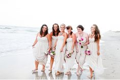 Neutral Wedding with Champagne and Pops of Fuschia