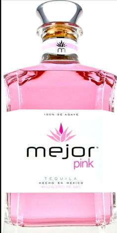 I've got to try this. This Pink Tequila is just to pretty to pass up.