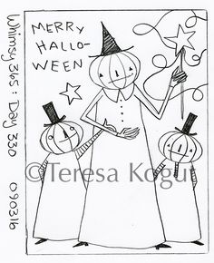 whimsy 365 day 330 090316 Halloween Embroidery, Halloween Quilts, Halloween Patterns, Halloween Crafts For Kids, Halloween Design, Penny Rug Patterns, Stencil Patterns, Embroidery Patterns, Hand Embroidery