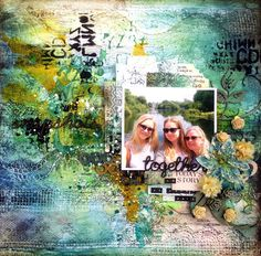 2Crafty Chipboard - September Inspiration By Marianne Johansson