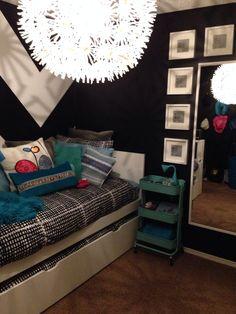 DIY teen bedroom