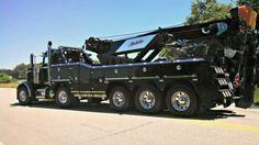 Big Rig Trucks, Dump Trucks, Tow Truck, Peterbilt Trucks, Chevy Trucks, Car Hauler Trailer, Towing And Recovery, Custom Trucks, Tandem