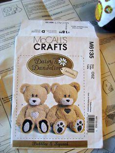 Memorial Daddy Bears | CoopCrafts More