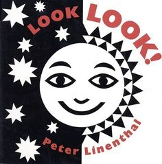 Look Look! (Book) : Linenthal, Peter : High-contrast black-and-white art for babies who are beginning to look and learn. Black And White Books, Black White, White Art, Infant Activities, Book Activities, Activity Books, Creative Activities, Sensory Activities, Toddler Books