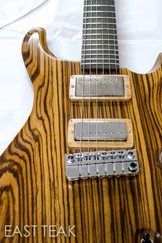 Exotic-Guitar-Hardwood-9 Zebra wood guitar