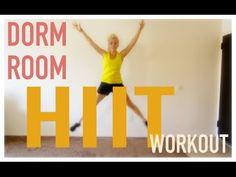 Dorm Room Workout! Fat Burning Workout