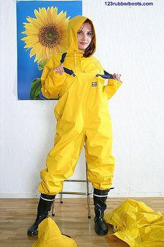 Rukka rainwear from Finland, the iconic yellow raincoat and rainsuit