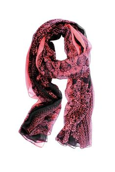 This Medallion Print Scarf light weight scarf will make a great accent to any outfit. It's 100x180cm size offers many different tying options.  Medallion Print Scarf by Wilkins & Olander. Accessories - Scarves & Wraps Wisconsin