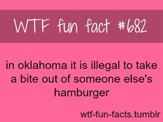 This should be illegal everywhere. Someone attempts to eat my hamburger they're going to lose a finger... or a whole hand!