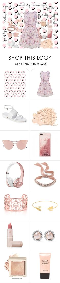 """Untitled #1227"" by vitorialn ❤ liked on Polyvore featuring Jil Sander, Kate Spade, So.Ya, Fallon, Lord & Taylor, Lipstick Queen, Miu Miu, Stila, Couture Colour and MAC Cosmetics"