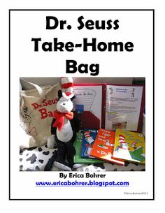 Erica's Ed-Ventures: General Information Packet and Take-Home Bags