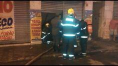 Incêndio atinge loja no Centro de Patos de Minas