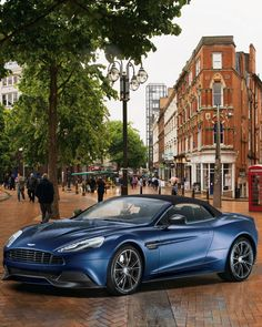 For the Bond in your life: the 2014 Aston Martin Vanquish Volante has a license . . . to thrill.