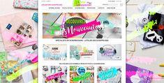 Découvrez le site e-commerce que l'on a créé pour notre client L'Atelier des Scrappeuses !