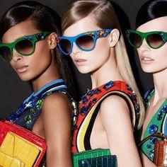ed52702e6c Prada eyewaer spring summer Swarovski Sunglasses