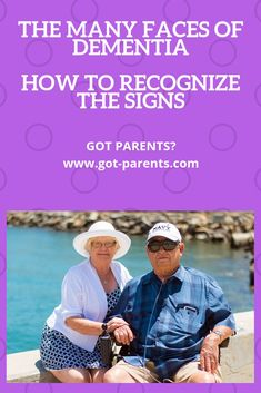 The Many Faces of Dementia - Got-Parents? Alzheimer's Symptoms, Dementia Symptoms, Signs Of Dementia, Alzheimer's And Dementia, Signs Of Alzheimer's, Senior Activities, Ways To Be Happier, Aging In Place, Aging Parents