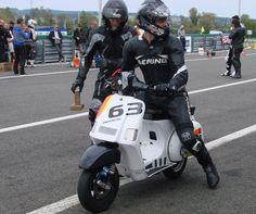 10H Scootentole Magny-Cours France, Vespa Cosa 177 Pinasco, photo DR Vespa Px 150, Vespa Lambretta, T5, Scooters, Biker, Racing, Motorcycle, France, Vehicles