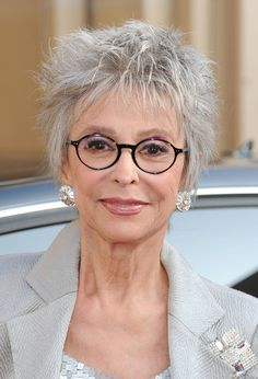 Rita Moreno. I believe this lady is 80 years old, maybe she has had work done or maybe she hasn't.....either way she is Fabulous!!!
