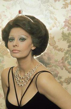 "Sophia Loren, beautiful photo of her. ""Great actress"""
