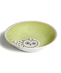 Add a stylish, playful touch to dining décor with this friendly forest-inspired bowl. Boasting fine porcelain construction and a sweet design, it's sure to be a hoot with guests!