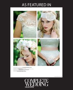 Dresses from #TheDesignerBridalRoom, headpiece from @empireroom and floral crown from @aschajolie