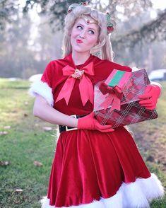 Sailor Moon Christmas, cosplay made and modeled by me!  #sailormoon #sailormoonchristmas #cosplay #abracatrena