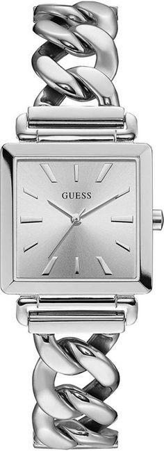 GUESS Watches - W1029L1 - horloge - Vrouwen - RVS - Zilverkleurig - 28 mm 8ea81d8f721