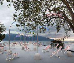 BUREAU A: bada bing boardwalk for montreux jazz festival 2013 - designboom | architecture