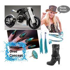 """Honda Oree Concept - Future Motorcycles"" by suziq-lthrs on Polyvore"