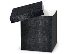 BLACK SWIRL Hi-Wall 8x8x9'100% Recycled Giftware Box BASE (1 unit, 50 pack per unit.) * Want to know more, click on the image.
