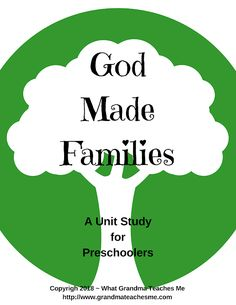 The educational printables make an entire preschool curriculum. They are perfect for homeschooling, daycares, and after-school programs. Preschool Workbooks, Preschool Bible, Preschool Curriculum, Preschool Printables, Preschool Ideas, Homeschool, Preschool Family Theme, Christian Preschool, Bible Study For Kids