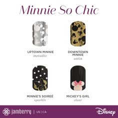 Sneak Peak At The New Designs For Jamberry and Disney Collaboration