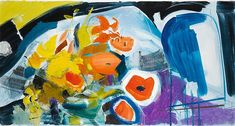 hitchens, ivon an uprush of flo Art Storage, Bond Street, Abstract Flowers, View Image, Impressionist, Archaeology, Worlds Largest, Oil On Canvas, Modern Art