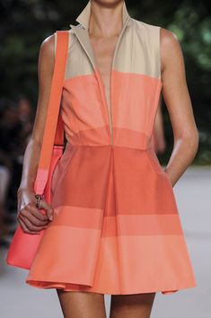 Akris Spring 2013. So much love for this dress.