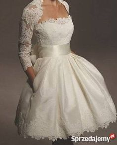 Suknia krótka  #slub #wesele #suknia #panmlody #pannamloda