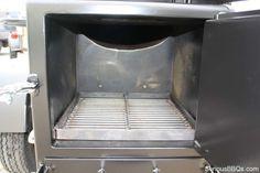 Inside of Fire Box Custom Bbq Grills, Custom Bbq Pits, Bbq Smoker Trailer, Barbecue Smoker, Grilling, Churros, Smoker Cooker, Custom Bbq Smokers, Drum Smoker