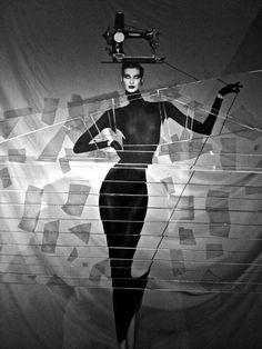 #Fotografía Jean Paul Goude @Qomomolo graphic designer, illustrator, photographer and advertising film director