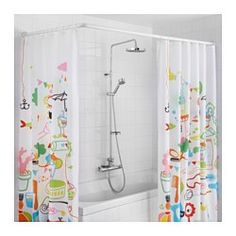 ikea gmmaren universal shower curtain rod the shower curtain rod can