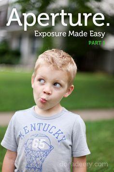 Doe a Deery: Exposure Made Easy PART 1: Aperture